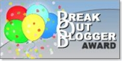 Break Out Blogger Award