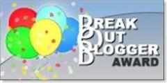 Break Out Blogger Award